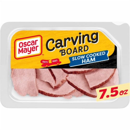Oscar Mayer Carving Board Slow Cooked Ham Perspective: front