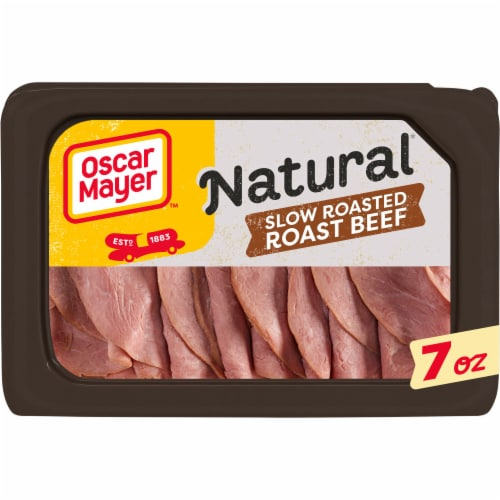 Oscar Mayer Natural Slow Roasted Roast Beef Perspective: front