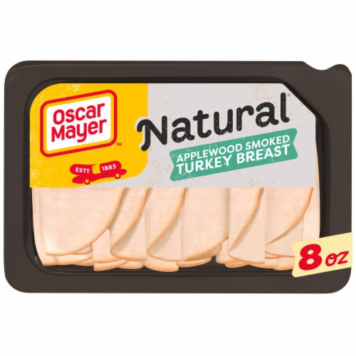 Oscar Mayer Natural Applewood Smoked Turkey Breast Perspective: front