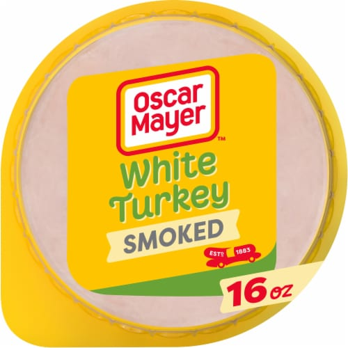 Oscar Mayer Smoked White Turkey Perspective: front