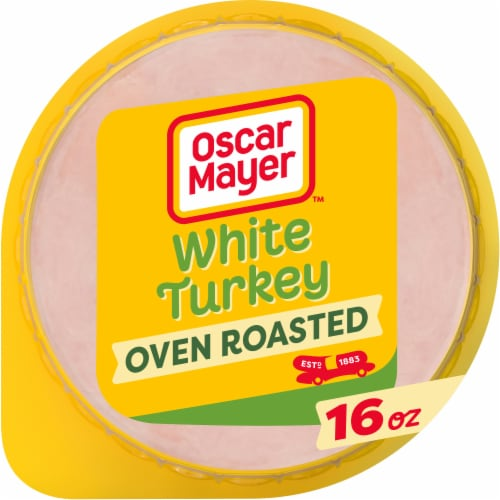 Oscar Mayer Oven Roasted White Turkey Perspective: front