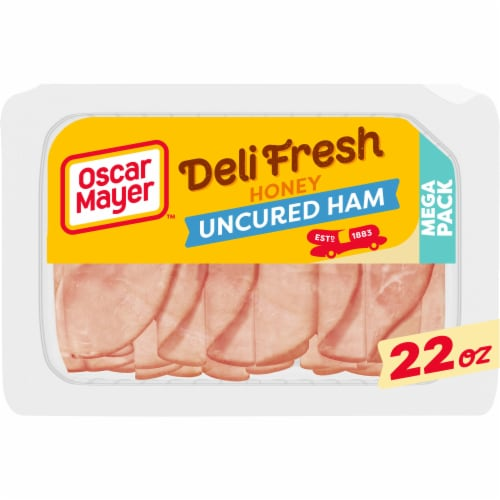 Oscar Mayer Deli Fresh Honey Uncured Ham Mega Pack Perspective: front