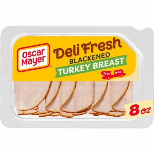 Oscar Mayer Deli Fresh Blackened Turkey Breast Perspective: front