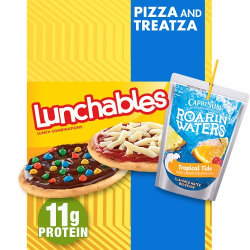 Lunchables Pizza & Treatza Perspective: front