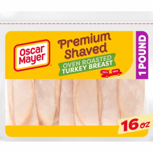 Oscar Mayer Premium Shaved Oven Roasted Turkey Breast Perspective: front