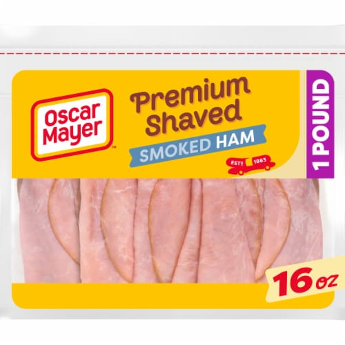 Oscar Mayer™ Premium Shaved Smoked Ham Perspective: front