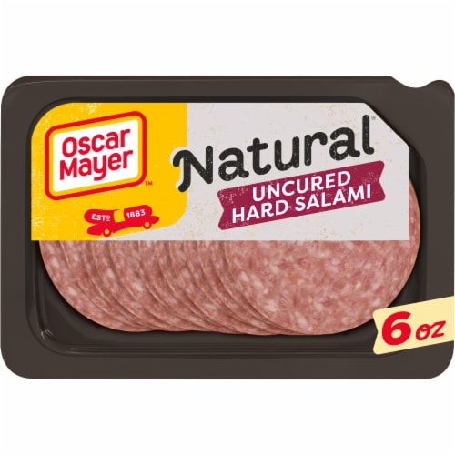 Oscar Mayer Natural Uncured Hard Salami Perspective: front