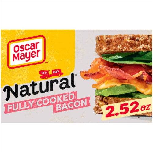 Oscar Mayer™ Natural Fully Cooked Bacon Perspective: front
