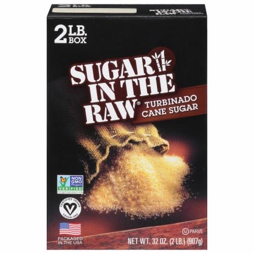 Sugar In The Raw Turbinado Cane Sugar Perspective: front