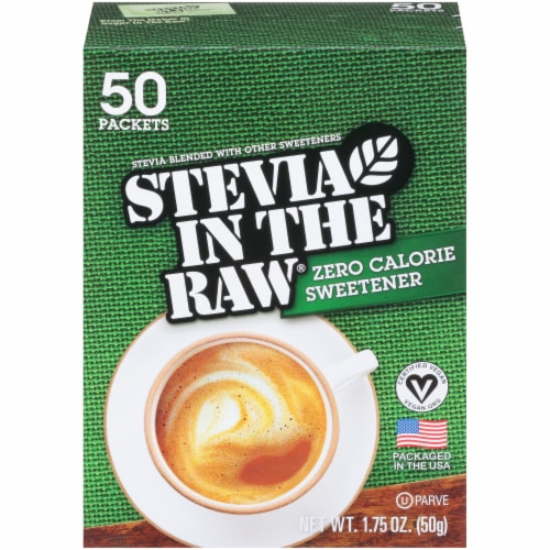 Stevia in the Raw Sweetener Perspective: front