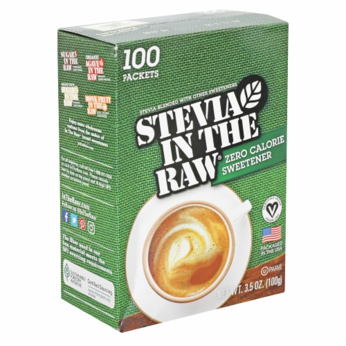 Stevia In The Raw Zero Calorie Sweetener Perspective: front