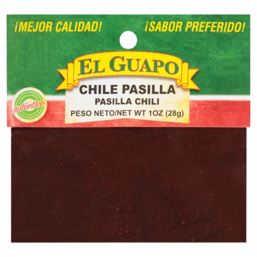 El Guapo Chili Pasilla Molida Ground Chili Perspective: front