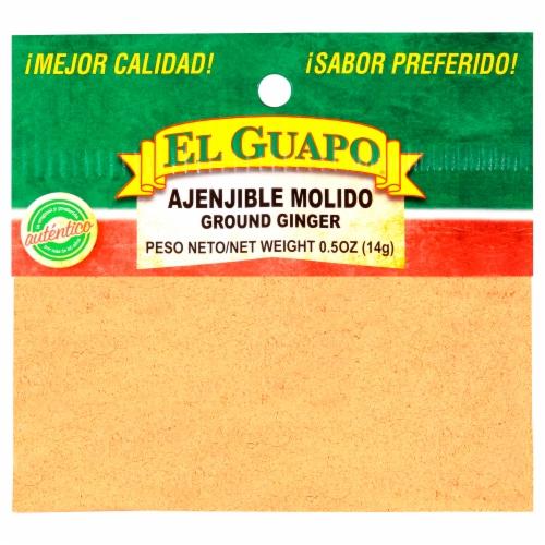 El Guapo Ajenjible Molido Ground Ginger Seasoning Perspective: front