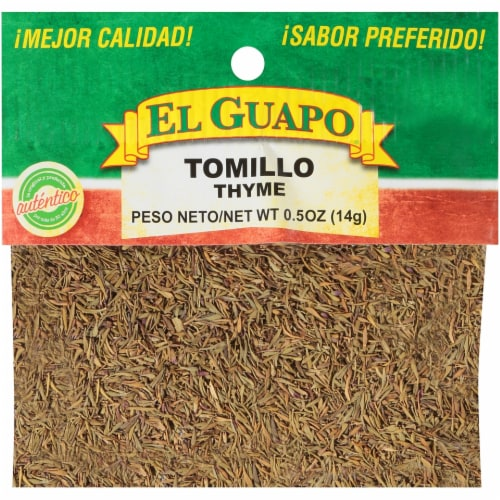 El Guapo Tomillo Thyme Perspective: front
