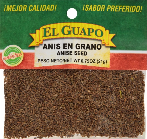 El Guapo Anis En Grando Anise Seed Perspective: front