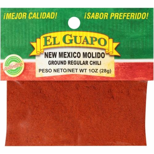 El Guapo New Mexico Molido Ground Regular Chili Perspective: front