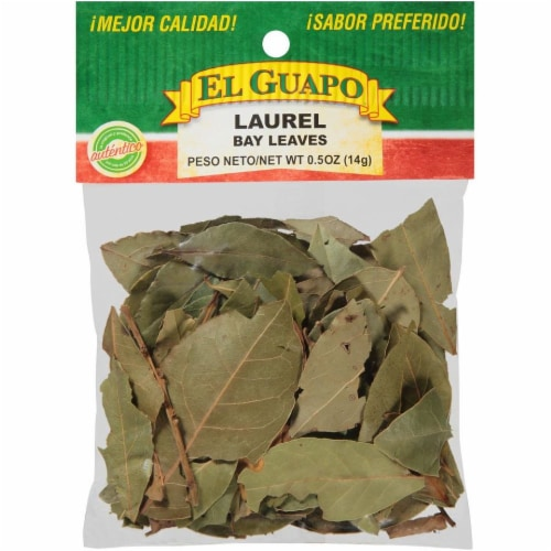 El Guapo Laurel Bay Leaves Perspective: front