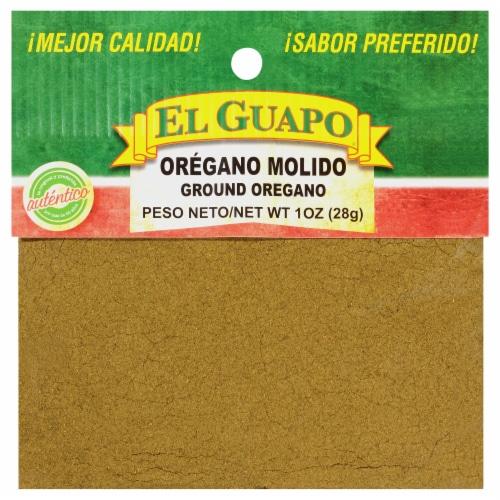 El Guapo Oregano Molido Ground Oregano Perspective: front