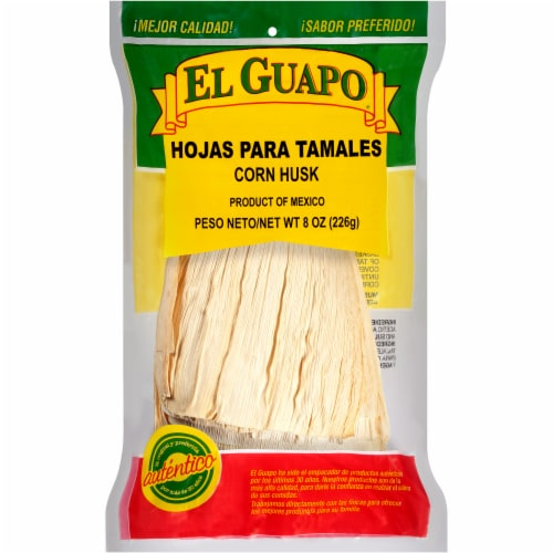El Guapo Corn Husks Shell Perspective: front