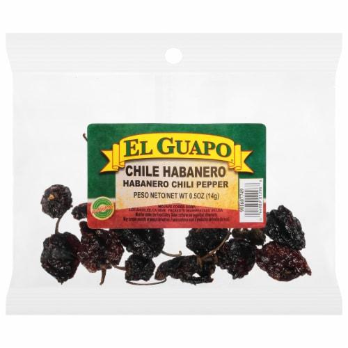 El Guapo Chile Habenero Pepper Perspective: front