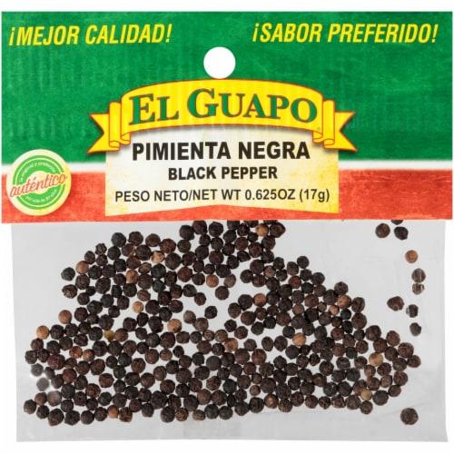 El Guapo Pimienta Negra Black Pepper Perspective: front