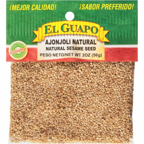 El Guapo Ajonjoli Natural Sesame Seed Perspective: front