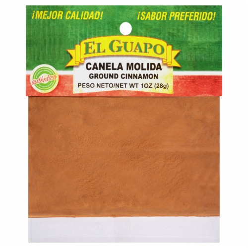 El Guapo Canela Molida Ground Cinnamon Perspective: front