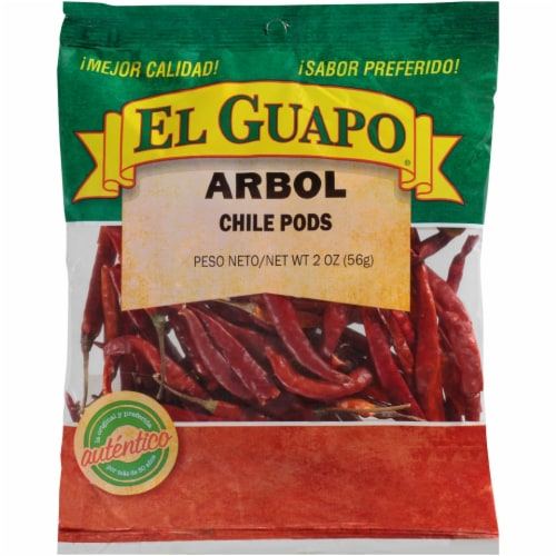El Guapo Arbol Chile Pods Perspective: front