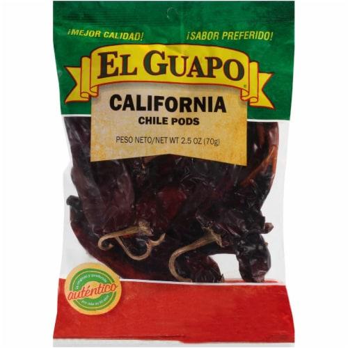 El Guapo California Chile Pods Perspective: front