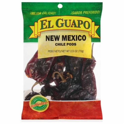 El Guapo New Mexico Chile Pods Perspective: front