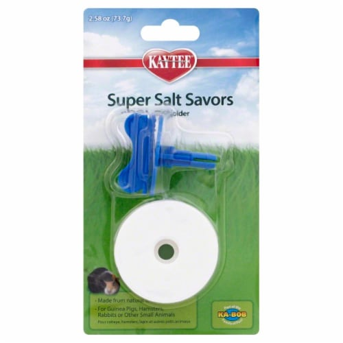 Super Pet Salt Savors With Holder Perspective: front