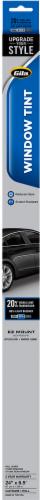 Gila® Scratch Resistant Window Film - Transparent/Black Perspective: front