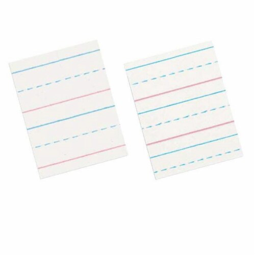 Pacon Corporation Pac2696 D-Nealian Ruled Pads 2Nd 3Rd Grade-500 Sheets/Ream Perspective: front