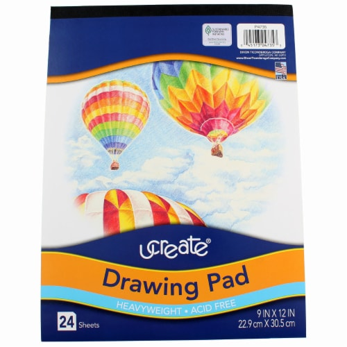 Pacon Art1st Heavyweight Smooth Drawing Pad Perspective: front