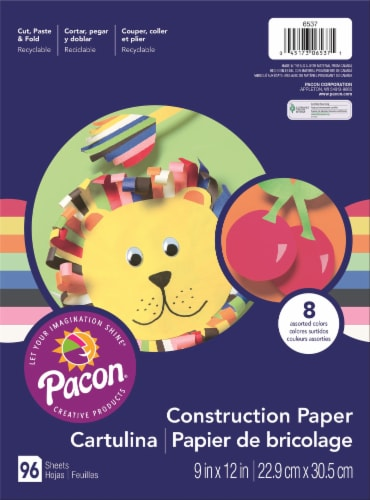 Pacon Construction Paper Perspective: front