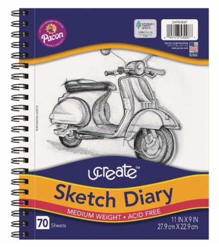 Ucreate Sketch Diary Perspective: front