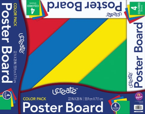 Ucreate Poster Board - 4 Pack Perspective: front