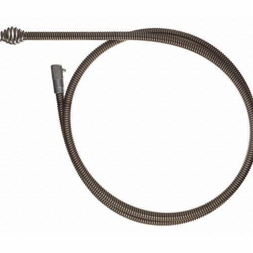Milwaukee Drain Cleaning Cable,1/2  x 6 ft. Size Perspective: front