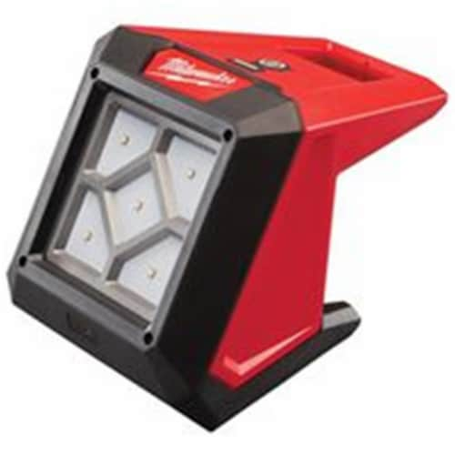 Milwaukee Rechargeable Worklight,12V,LED,1000 lm Perspective: front