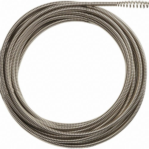 Milwaukee Drain Cleaning Cable,35 ft. Max. Run Perspective: front