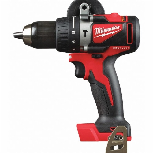Milwaukee Hammer Drill,18.0V,1/2  Chuck Size Perspective: front