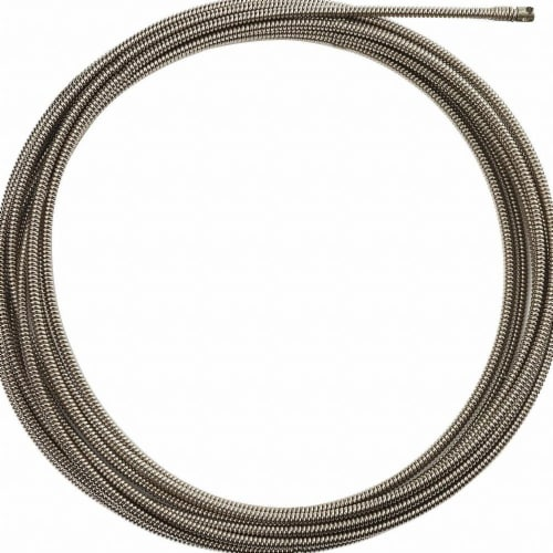 Milwaukee Drain Cleaning Cable,50 ft. Max. Run Perspective: front