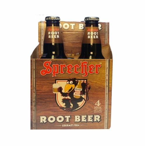 Sprecher™ Root Beer Perspective: front