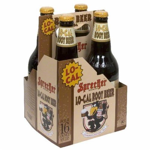 Sprecher Lo-Cal Root Beer Perspective: front