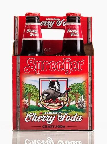 Sprecher Cherry Craft Soda Perspective: front