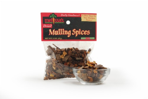 Melissa's Dried Mulling Spices Perspective: front