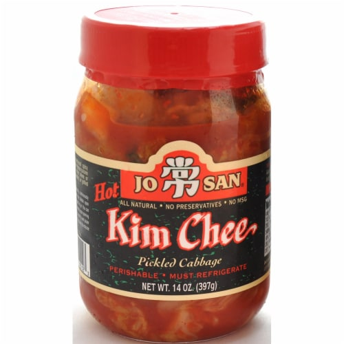 Melissa's Jo San Hot Kim Chee Perspective: front