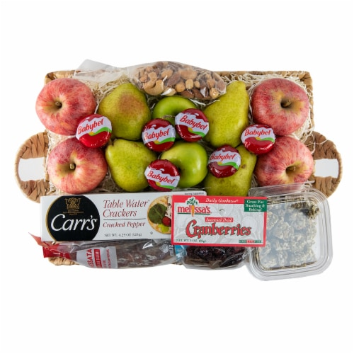 Melissa's Classic Treat Basket (Approximate Delivery is 3-5 Days) Perspective: front