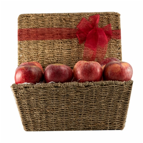 Melissa's Apple Lover's Hamper Basket (Approximate Delivery is 3-5 Days) Perspective: front