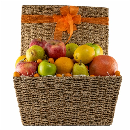 Melissa's Fruit Hamper Gift Basket (Approximate Delivery Time 3-5 Days) Perspective: front
